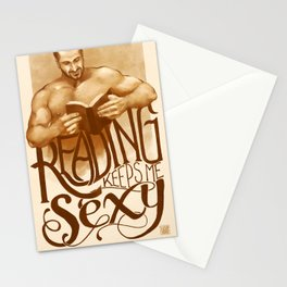 Sexy Reading Stationery Cards