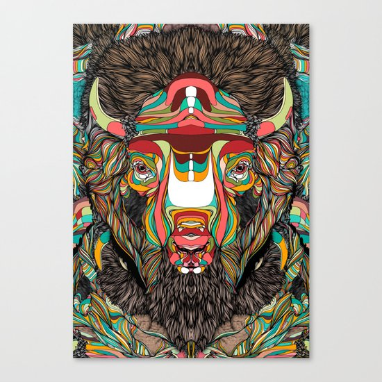 Bison (Feat. Bryan Gallardo) Canvas Print