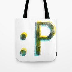 emoticon Tote Bag