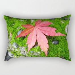 Leaf Zen Rectangular Pillow