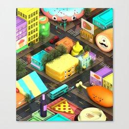 Voracious Digest Canvas Print