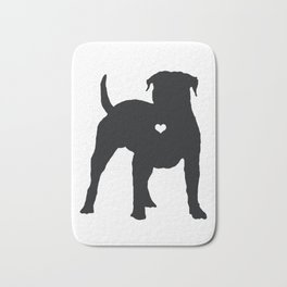 My American Bulldog Heart Belongs To You Bath Mat