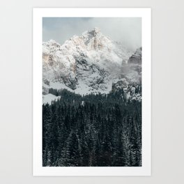 Dolomites mountains. Art Print
