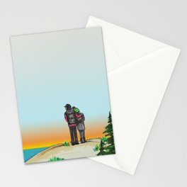 Explore Michigan Lovers Stationery Cards