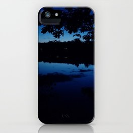 Night at the Grover Place iPhone Case