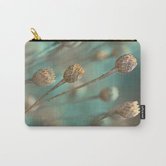 Wild flowers(blue&gold) Carry-All Pouch