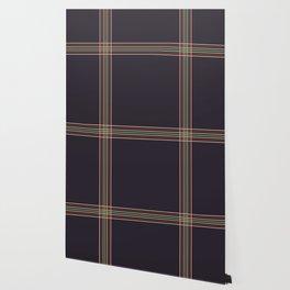 Retro Colored Thin Lined Cross Wallpaper
