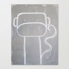 No. 0010 - Modern Kids and Nursery Art - The Monkey Canvas Print