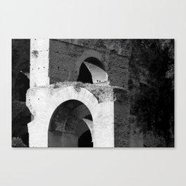 Arches Palatine Hill Rome Canvas Print