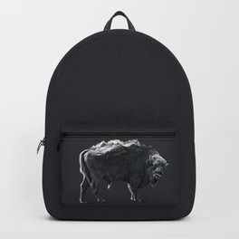 Bison art Backpack