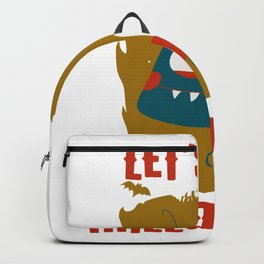 Let's Get Halloweird 12 Giant Cute Insect Monster Backpack