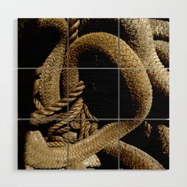 All Tied Up In Knots Wood Wall Art
