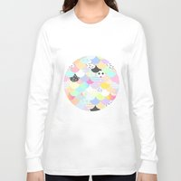 sprinkles Long Sleeve T-shirts featuring Ice Cream & Sprinkles by Holly Ent