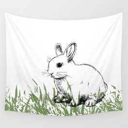 Cute bunny kids decor Wall Tapestry