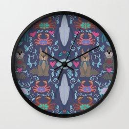 Pacific Northwest Ocean Wall Clock