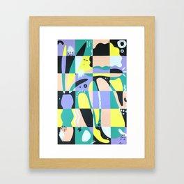 You Stay Reaching Framed Art Print