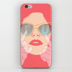 the subtle art of... iPhone Skin