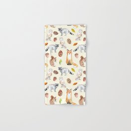 Woodland Critters Hand & Bath Towel