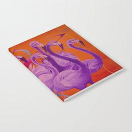 Purple Flamingo Notebook