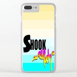 Shook AF Clear iPhone Case