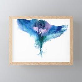 Isabella's Vulva Flower Framed Mini Art Print