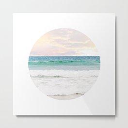 Ocean Crop Metal Print