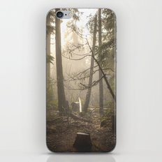 Sunrise Forest Adventure iPhone & iPod Skin