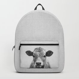 Cow 2 - Black & White Backpack