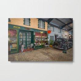 Old Town Street Metal Print