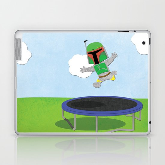 SW Kids - Boba Fett Jump Laptop & iPad Skin