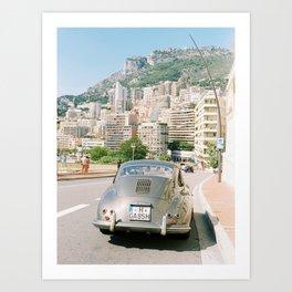 Monaco 356 Art Print