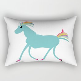 Arthur, the Unicorn Rectangular Pillow
