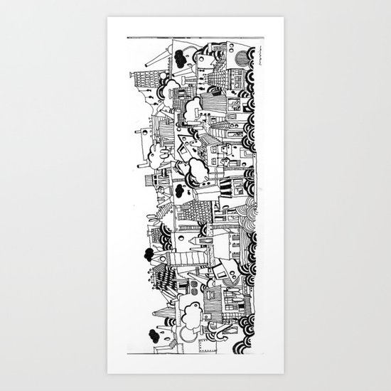 normandie Art Print