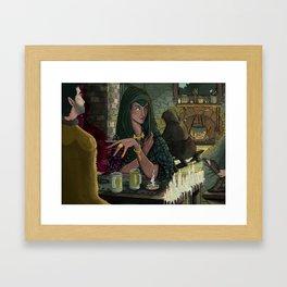 Witches Tavern Framed Art Print