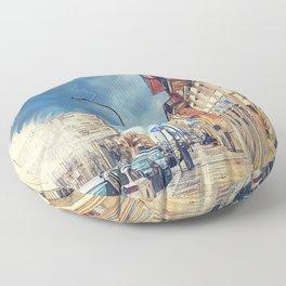 Trapani art 20 Sicily Floor Pillow