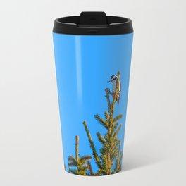 Christmas tree topper Travel Mug