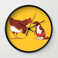 Show me yours and I'll show you mine Wall Clock