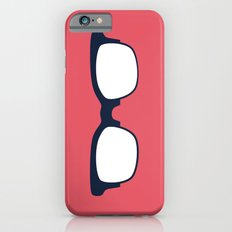 Sun Glasses on Red iPhone 6s Slim Case