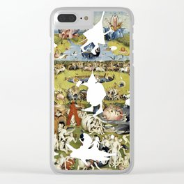 Bosch Creatures/Garden of Earthly Delights II Clear iPhone Case