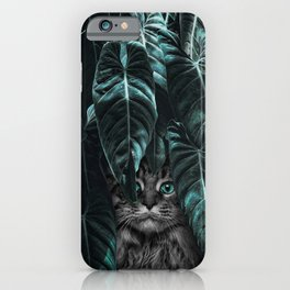 Furr you, cat lovers. iPhone Case