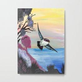 A Birds View Metal Print
