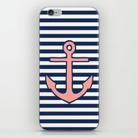 anchor iPhone & iPod Skins featuring Anchor by dani