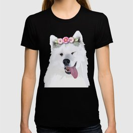Pretty Samoyed Dog T-shirt