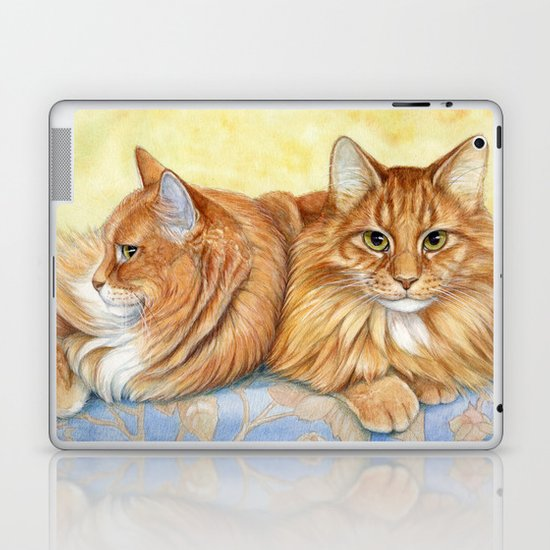 Ginger Cats A085 Laptop & iPad Skin