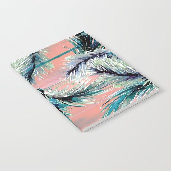 Pink tropical haze Notebook