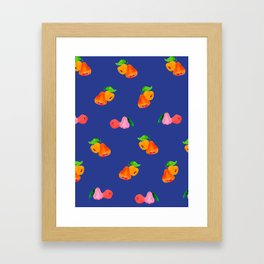 Jambu I (Wax Apple) - Singapore Tropical Fruits Series Framed Art Print