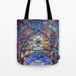 Space Shiva Tote Bag