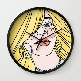 Love to Hate Wall Clock