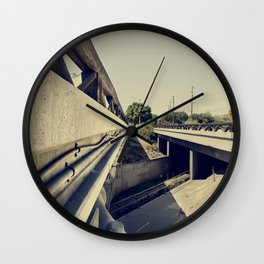 Summer Bridge Wall Clock