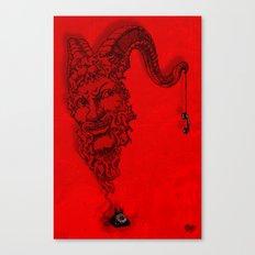 666 calling... Canvas Print